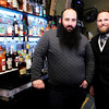 Don Knight | The Herald Bulletin<br /> Co-owners of the Kettle Top Brewhouse are from left, Dale VanDeraa and Daniel Hiles. Kettle Top is located in downtown Anderson at 1213 Meridian Street.