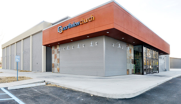 John P. Cleary |  The Herald Bulletin<br /> This is Northview Church, the new nondenominational church located in the former movie theater building at 1720 East 22nd Street.