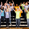 Don Knight | The Herald Bulletin<br /> Highland Middle School's New Edition Show Choir performs at the Paramount on Wednesday as part of the Festival of Trees. Choirs from city schools performed on Wednesday, Choirs from county schools including Frankton, Lapel, Madison-Grant and Pendleton Heights are performing today at 7 p.m.
