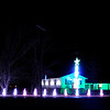 Don Knight |  The Herald Bulletin<br /> Edgewood Lights added a wall of snowflakes to their automated Christmas light show. The display can be viewed from the warmth and comfort of your car if you park in the Edgewood Elementary School parking lot.
