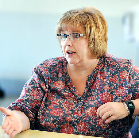 John P. Cleary |  The Herald Bulletin<br /> Joanne Amick of Safe Kids.