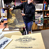 John P. Cleary |  The Herald Bulletin<br /> Cael Alexander, 12, found this 1919 diploma behind the framed picture of Jesus he bought at a garage sale.