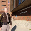 Don Knight |  The Herald Bulletin<br /> Sheriff Scott Mellinger says the biggest problem his department faces is chronic overcrowding at the Madison County jail.