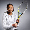 Don Knight |  The Herald Bulletin<br /> Tennis player Jamison Geoffreys, 14, is focused on her game with aspirations to one day make it to the top.