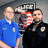 John P. Cleary |  The Herald Bulletin<br /> Elwood Police Department Capt. Nick Oldham and Lt. Lucas Traylor.                    THB Broken Trust series