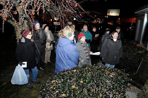 Don Knight |  The Herald Bulletin<br /> The Joy Circle at Park Place Church of God sings Christmas carols.