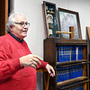 John P. Cleary | The Herald Bulletin<br /> Judge Tom Newman reflexes on his 43 years serving on the bench as his final term ends January 1st.