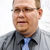 John P. Cleary | The Herald Bulletin<br /> Anderson High School Project lead the Way teacher Josh Dillard.