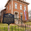 Don Knight | The Herald Bulletin<br /> The historic Gruenewald House was built in two sections and completed in 1873. If you see the banner in the yard the home is open for tours and if you would like to volunteer you can call 765-648-6875.