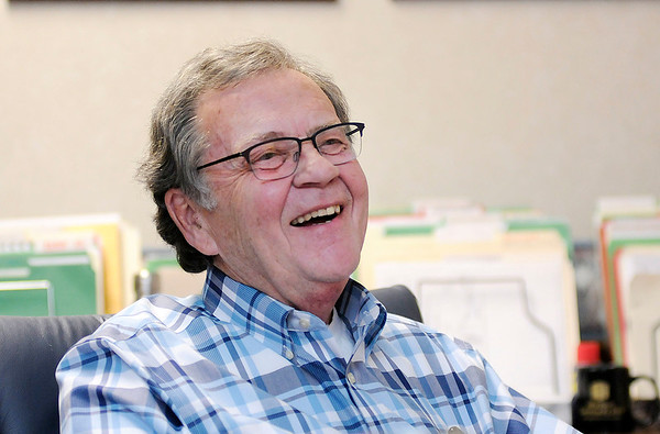 Don Knight   The Herald Bulletin<br /> Local realtor Tom Seal is optimistic about Anderson's future.