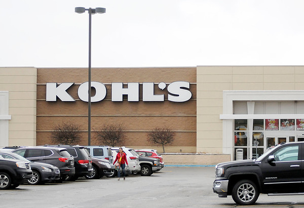Don Knight | The Herald Bulletin<br /> Kohl's parking lot was full of holiday shoppers on Wednesday.