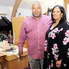 Don Knight | The Herald Bulletin<br /> Rev Anthony Harris and his wife Joyce at Church Upon the Rock. The church is holding a Watchnight service.