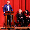 Don Knight | The Herald Bulletin<br /> Jay and Nancy Ricker announced donations of over $1 million to community organizations including the Paramount, Habitat for Humanity and the Historical Society.