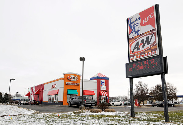 Don Knight | The Herald Bulletin<br /> You can have food from the A&W KFC location in Anderson delivered through Grubhub.com.