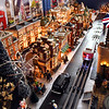 John P. Cleary | The Herald Bulletin<br /> Larry Davenport's train display at the Paramount Theatre as part of the Festival of the Trees. This is one of Davenport's favorite sections, London Town.