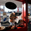 John P. Cleary | The Herald Bulletin<br /> Norman Day of Day's Marathon Service in Middletown takes care of another customer with his full service station.