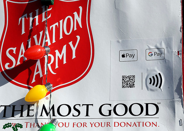 Salvation Army has gone hi-tech with their Red Kettle campaign as you now can donate using your smart device with just a scan.