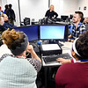 Concentrix customer service representatives go through a training session at the Daleville call center in this October 2019 file photo. The company  announced they were adding 245 full-time and seasonal customer service positions at it's Daleville facility.