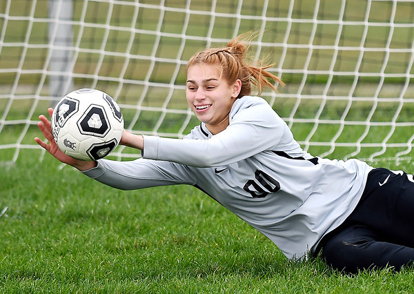 Megan Mills, of Pendleton Heights HS, is THB's Girls Soccer Athlete of the Year.