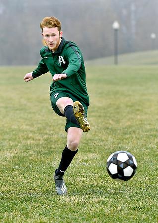 Brennan Jones of Pendleton Hts. is Boys Soccer Athlete of the Year.