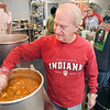 Rex Teeple volunteers in the kitchen of the Christian Center several days a week.