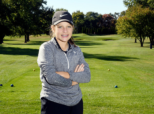 Macy Beeson of Lapel HS, THB's Golf Athlete of the Year.