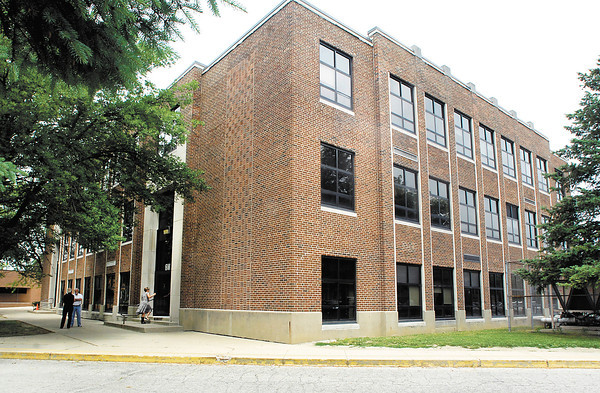 THB FILE PHOTO: The old Pendleton Middle School building that once was the high school.