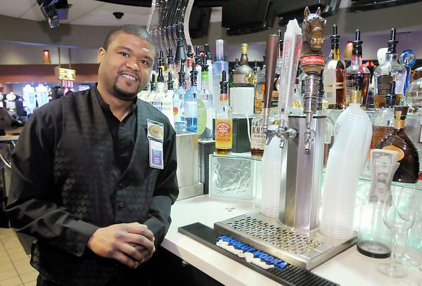 The Herald Bulletin Readers voted Hoosier Park's David Allen as the best bartender.