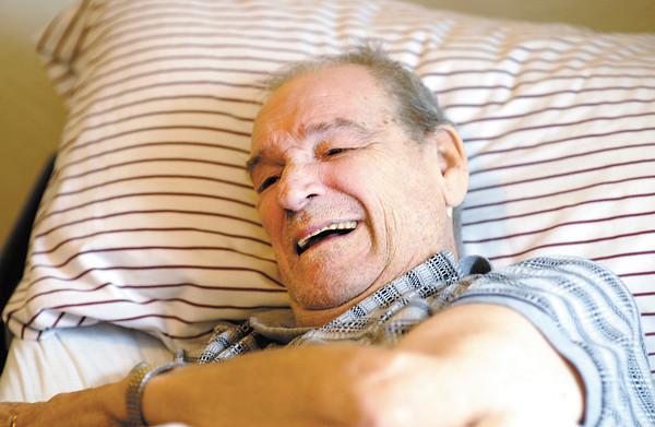 Hospice patient Cecil Spearman.
