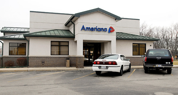 The Ameriana Bank at 1724 East 53rd Street in Anderson was robbed about 9:30 a.m. Wednesday morning.