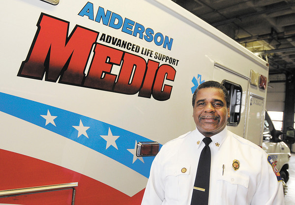 Phillip Rogers was the first African-American paramedic and fire chief in Anderson.