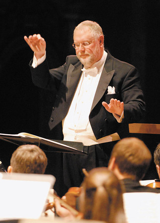 Anderson Symphony Orchestra music director and conductor Richard Sowers.
