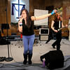 Christian rock band Saints of Denial performs at Main Street Church of God to celebrate the release of their EP on Friday. Members of the band are Eric Prater, Aaron Hill, Kelly Keating and Tommy Ranz.