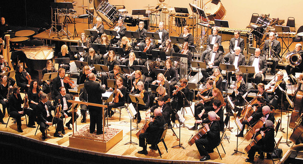 """The Anderson Symphony Orchestra presented """"Legend, Ritual and Folklore"""" Saturday evening at the Paramount Theatre Centre in downtown Anderson. The ASO Percussion Section were featured musicians at the concert."""
