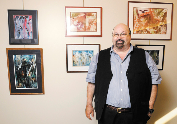 Works by painter Gary Dale Brummitt are on display at the Anderson Madison County Visitors Bureau.