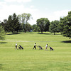 THB FILE PHOTO: These golfers take the long walk up the 18th fairway at Grandview Golf Course in Anderson.  This tough finishing hole plays 409 yards long and runs gently uphill for the length of this par 4 to an elevated green.