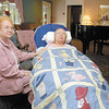 Jean Ehrhart caring for her mother Wanda Imel who has Alzheimer's.