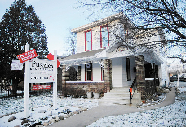 Puzzles Restaurant in Pendleton is offering a four-course holiday dinner on Valentine's Day.