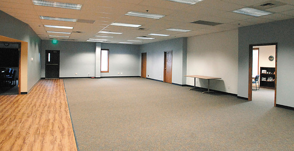 This is one of the areas in the Anderson Innovation Center at 1735 W. 53rd Street that can be used as part of the Flagship Alliance.