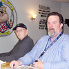 Ken de la Bastide / The Herald Bulletin<br /> From left, Dwight Anderson and Mike Minnicus regulars at the Bulldog Cafe in Lapel.