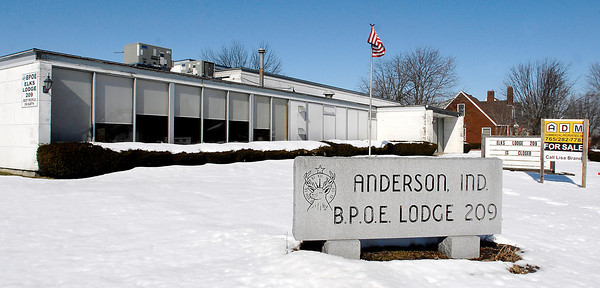 THB photo/John P. Cleary<br /> Anderson Elks Lodge 209 on Broadway has closed and is having a liquidation sale of all it's items March 22nd.