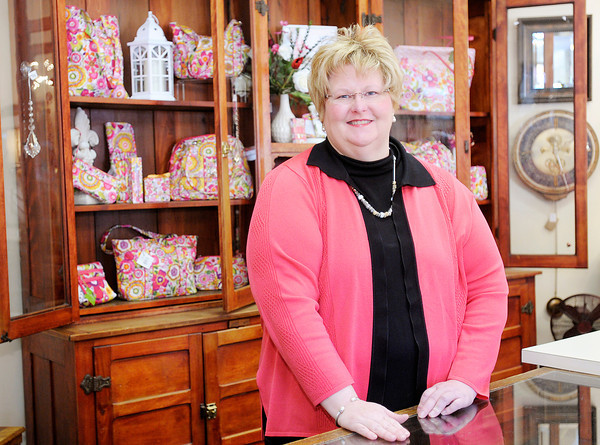 Don Knight / The Herald Bulletin<br /> Nancy Moneyhun is co-owner of Moneyhun's with her mother Marilyn. Moneyhun's was named Madison County's Best Specialty/Gift Shop.