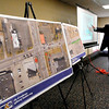 THB photo/John P. Cleary<br /> Jason Griffin, a landscape architect with Butler Fairman & Seufert,  goes over the details of the proposed Gateway project along Nichol Avenue, west of Raible Avenue.