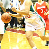 Chris Martin for THB/ Anderson's Chelsea Bentley drives to the basket against Richmond during sectionals Wednesday night.