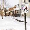 Don Knight / The Herald Bulletin<br /> A Neighborhood crime watch sign is attached to a post near the location of a former meth lab bust on 15th Street in Anderson. Neighbors willing to report suspicious activity can lead to meth lab busts.