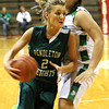 Chris Martin for THB/ Pendleton Heights' Kelsee Wendling drives to the basket Wednesday in the sectional game against New Castle