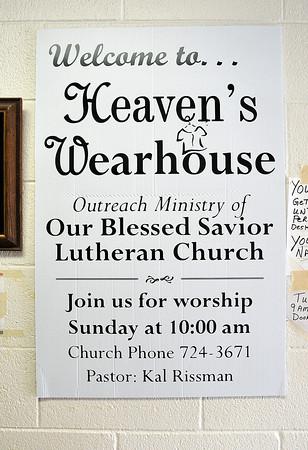 John P. Cleary   The Herald Bulletin<br /> Heaven's Wearhouse in Alexandria.