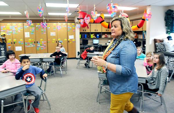 John P. Cleary | The Herald Bulletin<br /> Heidi Moore, teacher at Maple Ridge Elementary School, won Best Of Teacher.