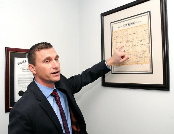Stu Hirsch | The Herald Bulletin<br /> Scott Deetz, the new Madison-Grant School Corp. Superintendent.