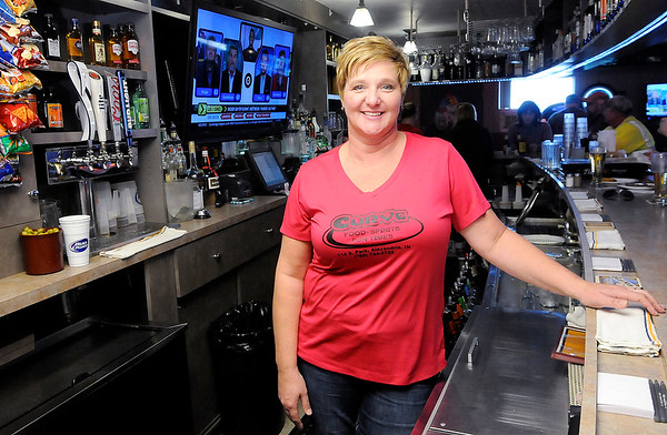 Don Knight   The Herald Bulletin Tiffany Clegg was chosen by readers of The Herald Bulletin as Best Bartender.  She tends the bar at The Curve at Grandview.